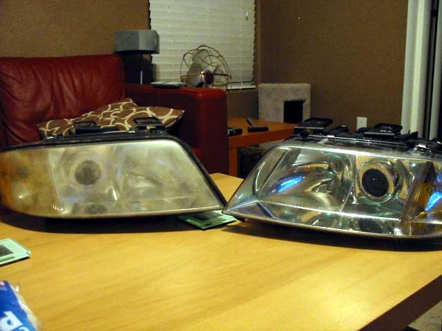 Headlight assembly same as regular A6 ? - AudiWorld Forums